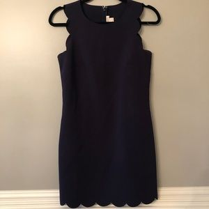 J. Crew Dresses - J. Crew Scalloped Hem Dress